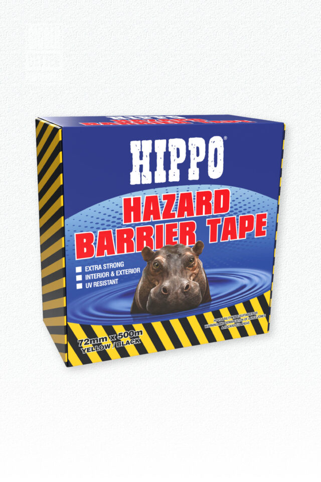 Hippo Hazard Barrier Tape