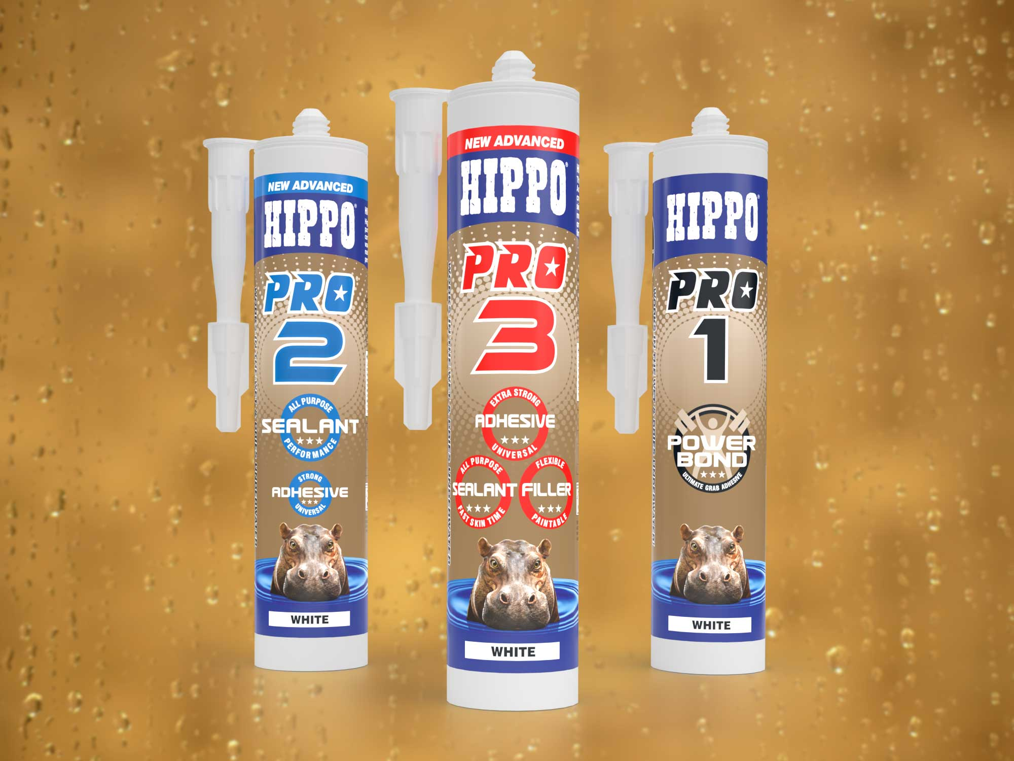 The New Advanced Hippo PRO Range