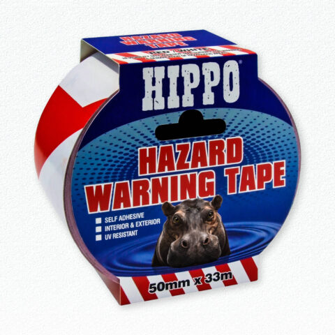 Hippo Hazard Warning Tape