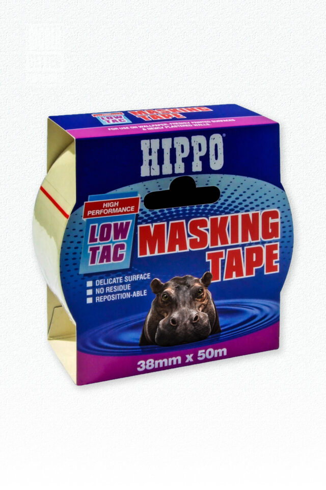 Hippo Low-Tac Masking Tape