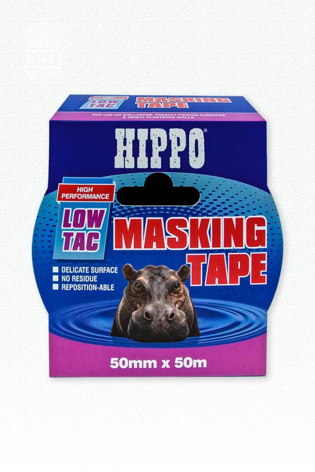 Hippo Low-Tac Masking Tape