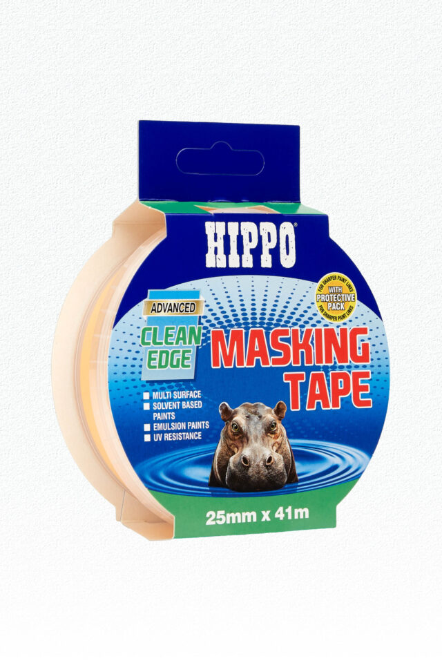 Hippo Clean-Edge Masking Tape